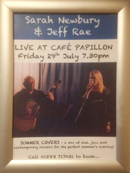 Sarah Newbury & Jeff Rae - Entertainment in Oxted