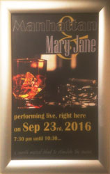 Manhattan Mary Jane - Entertainment in Oxted