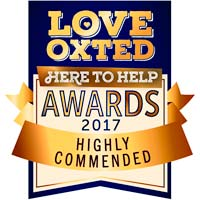 Love Oxted awards Cafe Papillon a Highly Commended for outstanding customer service