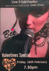 Bee Valentines Special - Entertainment in Oxted